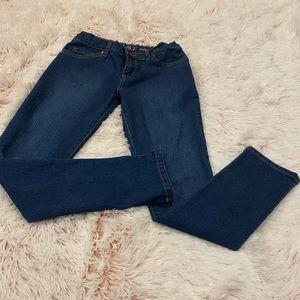 Girls denim jeans, super skinny size 10